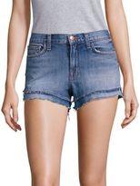 J Brand Bleached Frayed Hem Shorts