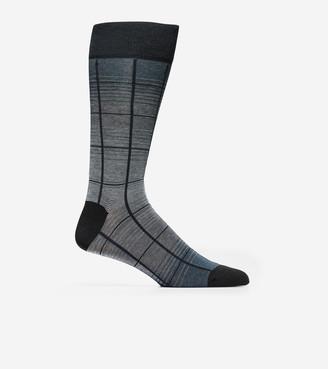 Cole Haan Windowpane Crew Socks