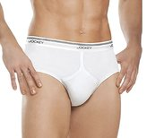 Jockey STAYNEW Men's Underwear Classic Low Rise Brief - 6 Briefs