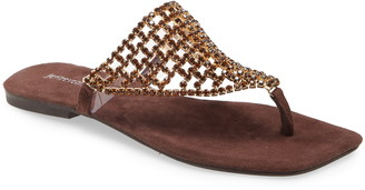 Jeffrey Campbell Abelia 2 Crystal Flip-Flop
