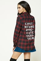 Forever 21 FOREVER 21+ Flannel Plaid Shirt