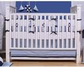 Bacati Little Sailor 9 Piece Crib Bedding Set