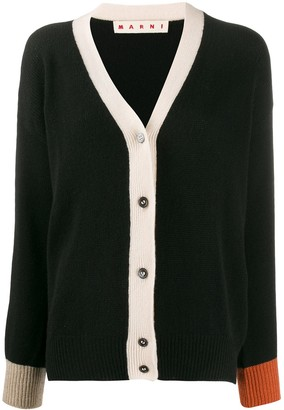 Marni colour-block cardigan