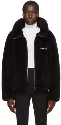 Ambush Black Wool Fleece Jacket