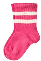 Mini Rodini Stripe Sock Pink