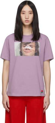 Undercover Purple A Clockwork Orange Alex Broken Nose T-Shirt
