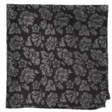 The Tie Bar Intellect Paisley Woven-Silk Pocket Square
