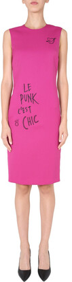 Boutique Moschino Embroidered Pencil Dress
