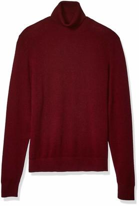 Buttoned Down Standard Men's 100% Premium Cashmere Turtleneck Sweater