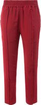 Haider Ackermann elastic waist cropped pants - women - Silk - 36