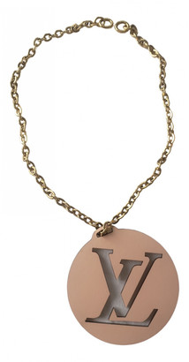 Louis Vuitton Pink Leather Bag charms