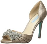 Betsey Johnson Blue by Women's Gown Pump