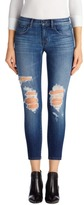 J Brand 9326 Low-Rise Crop Skinny in Decoy Destruct