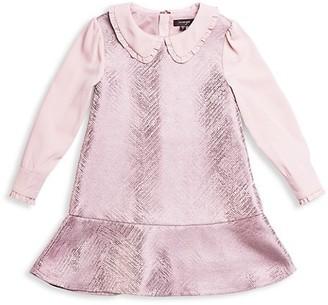 Imoga Little Girl's Girl's Woven Collared Dress