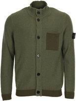 Stone Island Knitwear Pocket Cardigan 6715530D9-V0055 Green