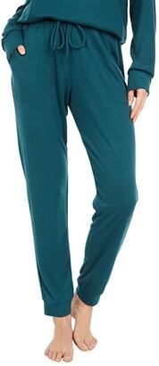Eberjey Mina - The Runner Lounge Pant (Evergreen) Women's Pajama