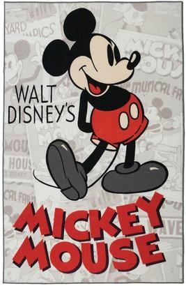 "Disney Disney's Mickey Mouse Classic Retro Rug - 4'6"" x 6'6"""