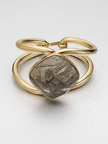 Vionnet Pyrite Cuff Bracelet