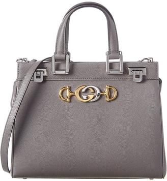Gucci Zumi Small Leather Top Handle Tote
