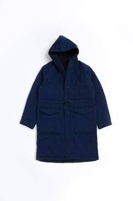 Universal Works Reversible Parka Navy - L