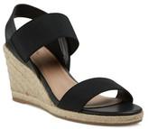 Merona Women's Janet Wide Width Elastic Espadrille Wedge Sandals