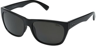 Zeal Optics Carson (Black Gloss/Dark Grey Polarized Lens) Sport Sunglasses