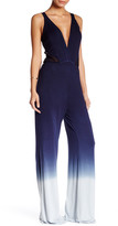 Young Fabulous & Broke V-Neck Sleeveless Ombre Jumpsuit