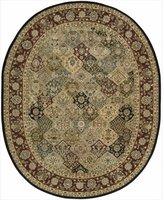 Nourison 2101-099446074416 2000 Multicolor Oval Area Rug