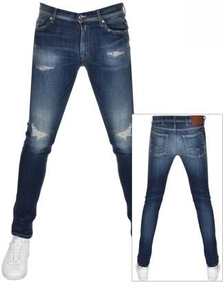 Replay Jondrill Skinny Jeans Blue