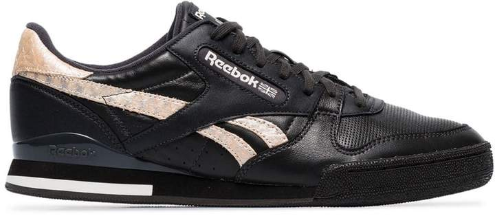 33a2c722 Reebok Black Leather Men's Shoes   over 200 Reebok Black Leather Men's  Shoes   ShopStyle