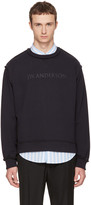 J.W.Anderson Navy Logo Sweatshirt
