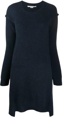 Stella McCartney Loose Drop-Shoulder Knit Dress
