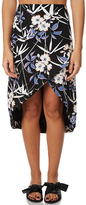 MinkPink Oriental Womens Split Skirt
