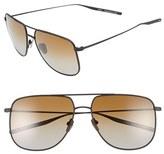 Salt Men's 'Odin' 58Mm Polarized Sunglasses - Black Sand/ Brown