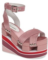 Jeffrey Campbell Women's Monetta Platform Wedge Sandal