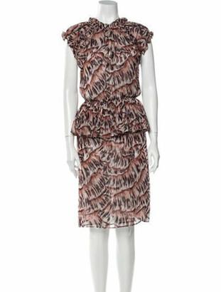 Bottega Veneta Silk Knee-Length Dress