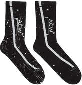 A-Cold-Wall* SSENSE Exclusive Black Logo Socks