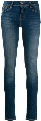 Philipp Plein Mid-Rise Skinny Jegging Jeans