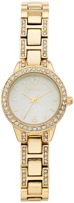 Fossil Relic by Women's Tenley Crystal Accent Watch
