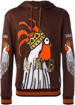 Dolce & Gabbana sequin print hoodie
