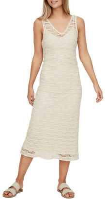 Vero Moda Omega Crochet Midi Dress