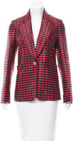 Sonia Rykiel Jacquard Button-Up Blazer w/ Tags