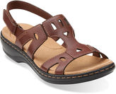 Clarks Leisa Annual Leather Sandals