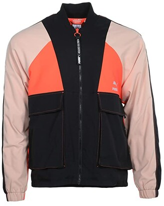 Puma Tailored For Sport Industrial Track Jacket Black) Men's Clothing