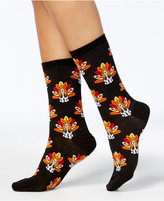 Hot Sox Women's Turkey Dog Socks