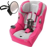 Maxi-Cosi Pria 85 Convertible Car Seat w Back Seat Mirror - Passionate Pink by