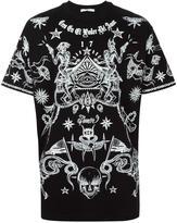 Givenchy tattoo print T-shirt - men - Cotton - XS