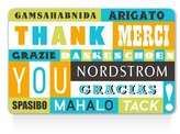 Nordstrom World Of Thanks Gift Card $1000