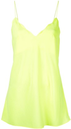 Acler Aviel scalloped cami top