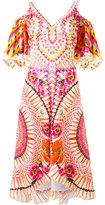 Temperley London floral print dress - women - Silk/Spandex/Elastane - 8